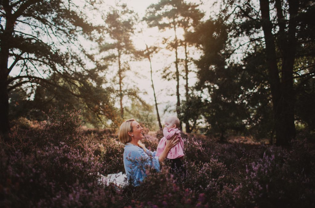 Sunrise Photography Session in Guildford with Colum, Margaret and Grace