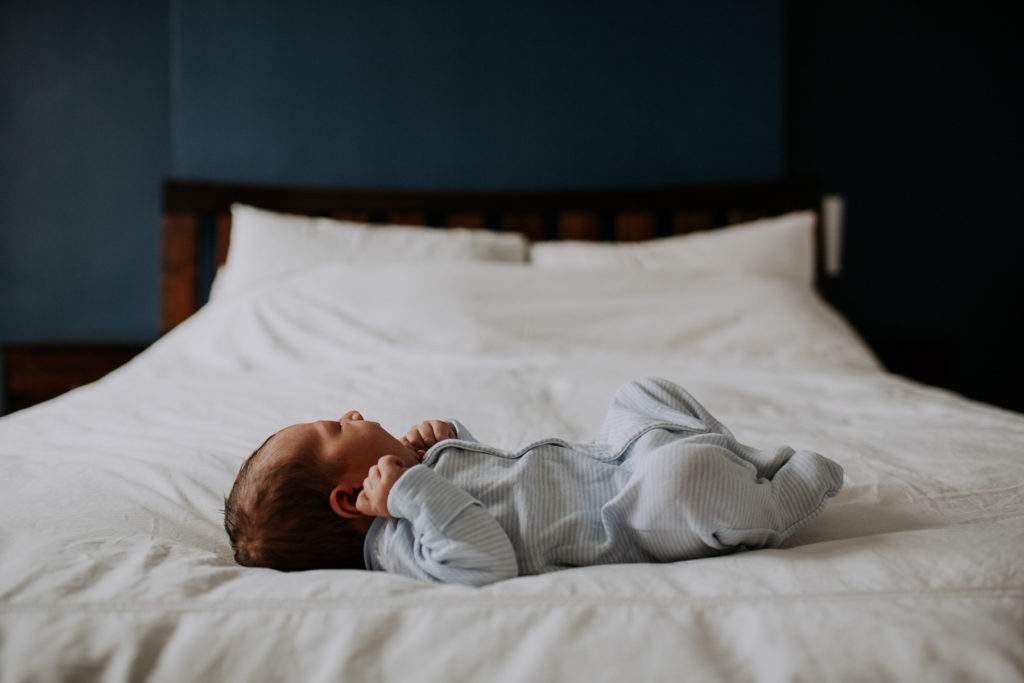 natural baby at home photoshoot