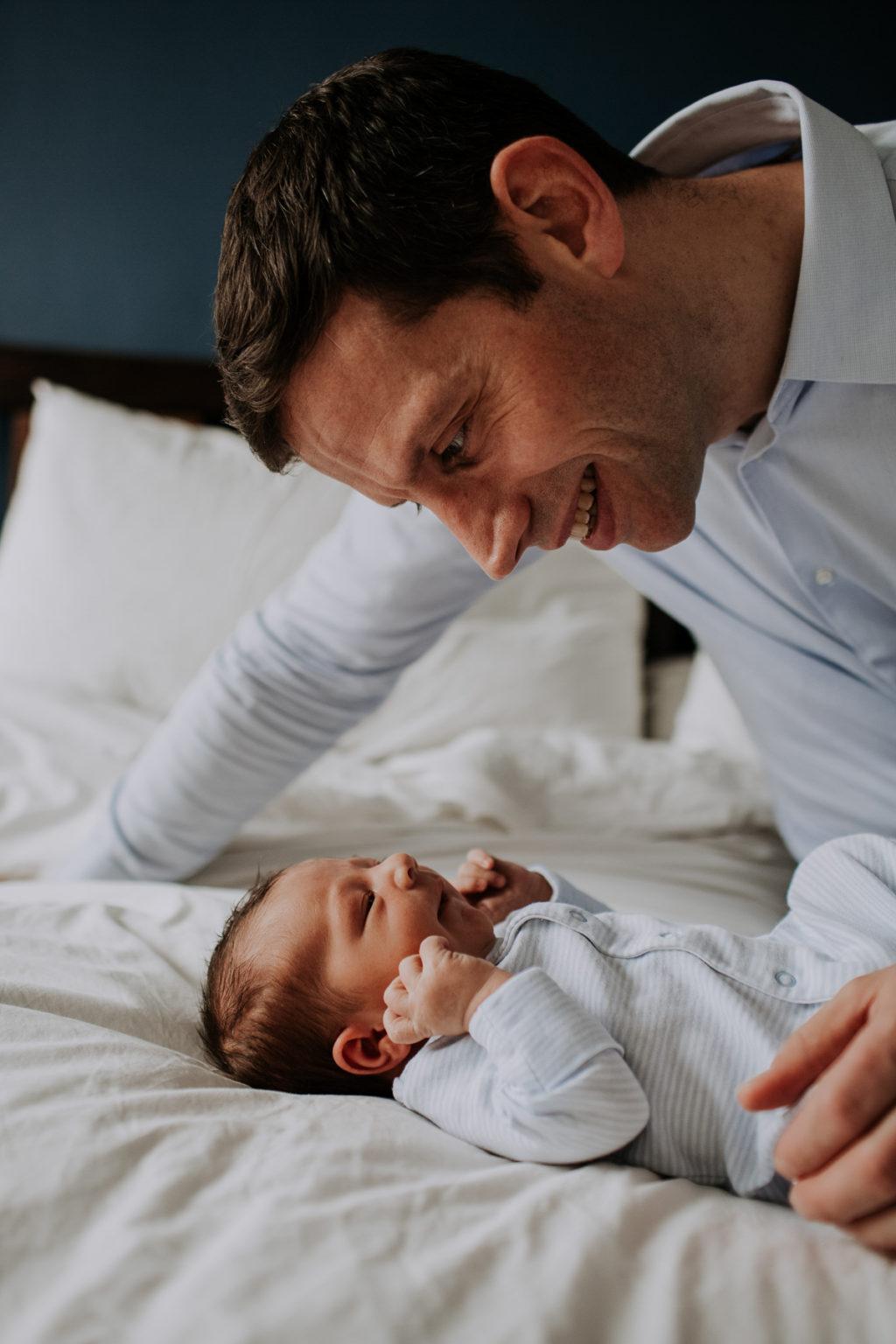 newborn at home photoshoot